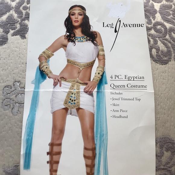 Leg Avenue Brand Halloween Egyptian Queen Costume